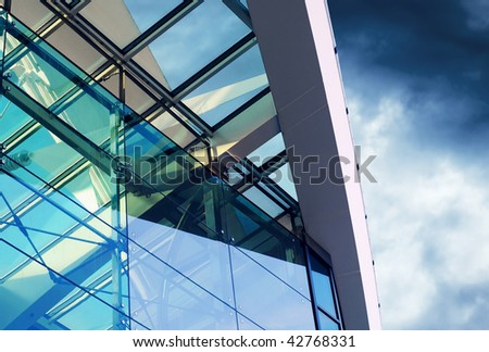 Business buildings architecture on sky background #42768331
