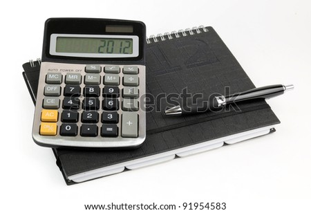 Business calculations for 2012 year