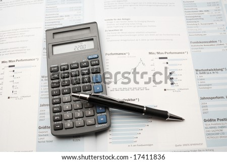 Business Calculator Pen