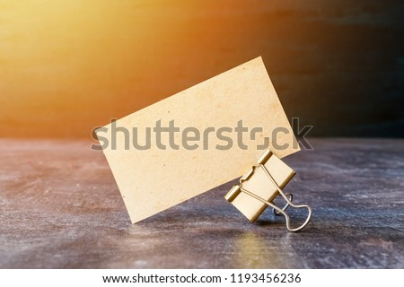 Free Photos Recycled Paper Business Cards On Wooden Background