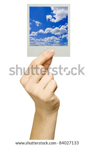 business card isolated on the white backgrounds