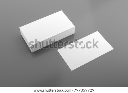 Business cards blank mockup template 3d rendering ez canvas business cards blank mockup template 3d rendering accmission Image collections