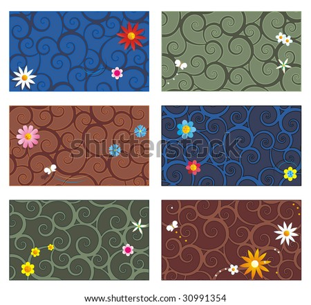 butterfly backgrounds for invitations. Business cards, tags, invitations