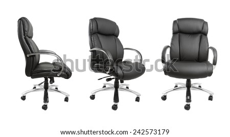 Business chair isolated on plain background #242573179