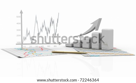 business charts, diagram bar, graphic
