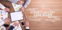 Business Concept: Case Study Word Cloud