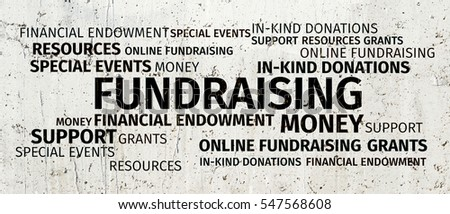 Business Concept: Fundraising Word Cloud #547568608