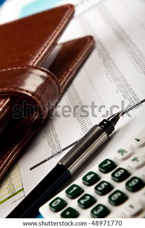 business concept, wallet