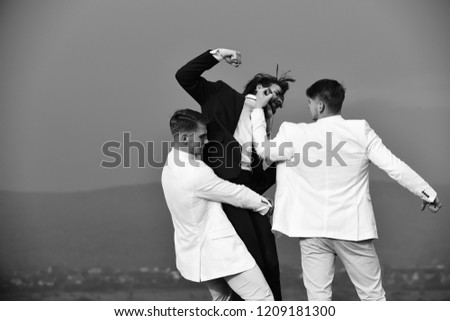 business conflict, conflict of interest, pressure and raidership, boss and employee, challenge and situation, men fighting