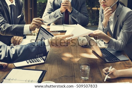 Business Corporate People Working Concept #509507833