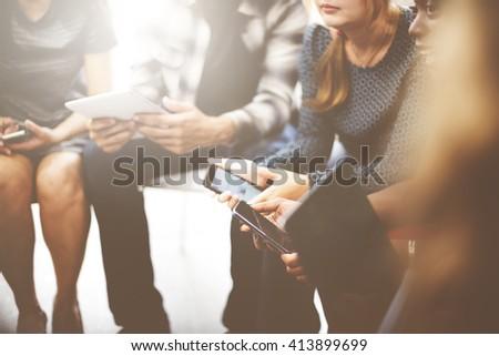Business Corporation Organization Teamwork Concept - Shutterstock ID 413899699