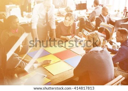 Business Corporation Organization Teamwork Concept #414817813