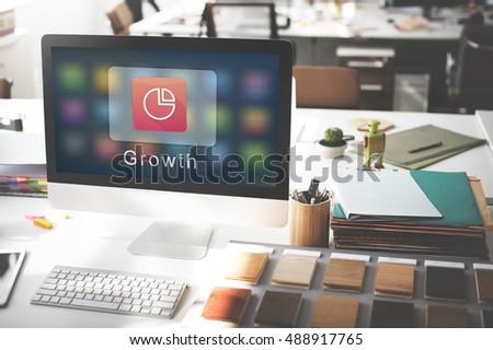 Business Corporation Statistics Pie Chart Concept - Shutterstock ID 488917765