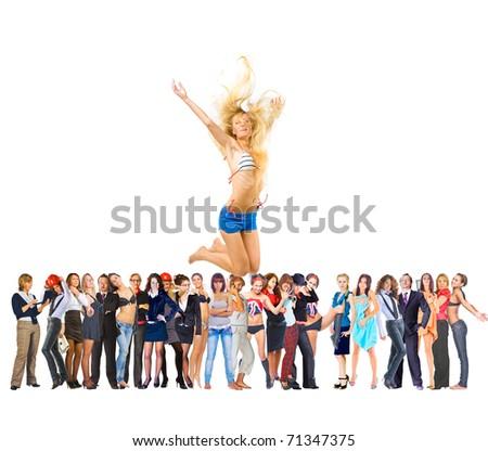 Business Crowd Winners #71347375