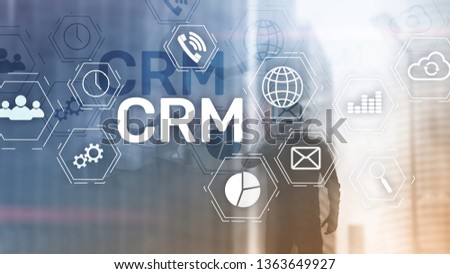 Business Customer CRM Management Analysis Service Concept. Relationship Management. #1363649927