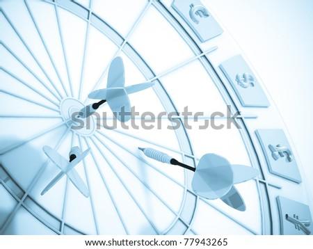 Business darts.