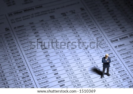 Business figures and Stock report
