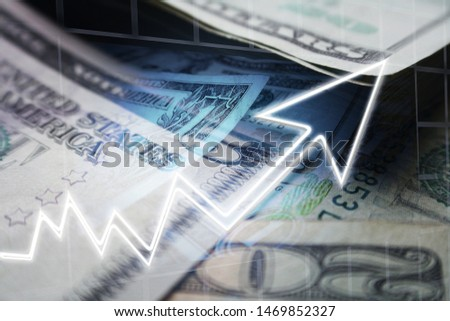 Business & Finance Concept Of Increasing Profits High Quality  #1469852327