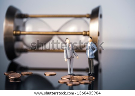 Business finance cooperation #1360405904