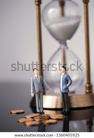 Business finance cooperation #1360405925