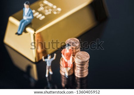 Business finance cooperation #1360405952