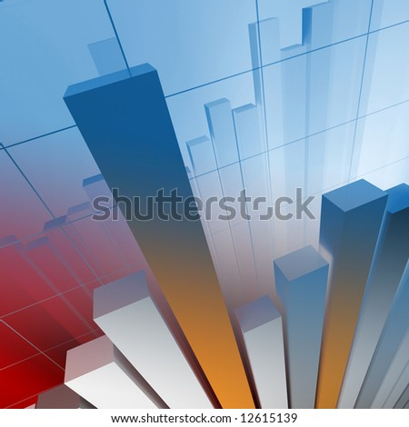 business financial chart