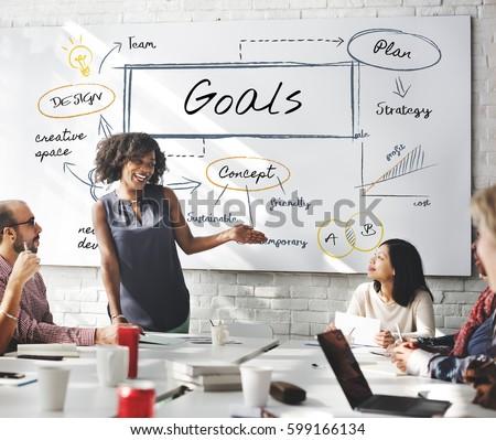 Business Goals Concept