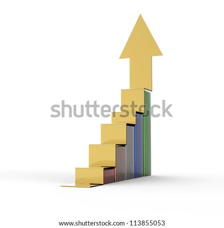 business graph bar growth
