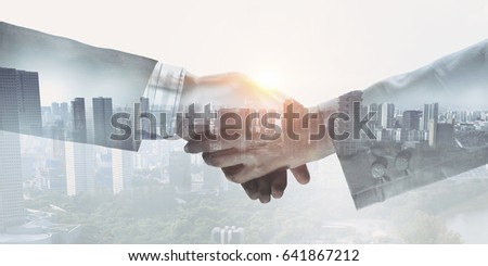 Business greeting or agreement #641867212