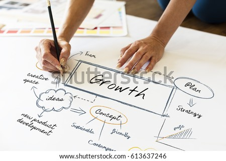 Business Growth Creative Graphic Сток-фото ©