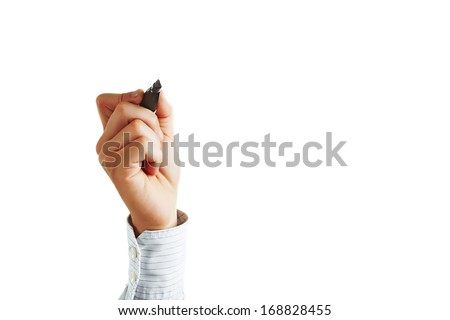 Business hand writing  #168828455
