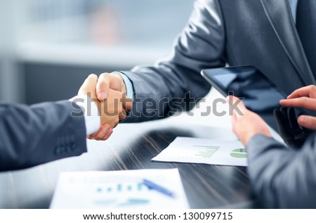 Business handshake #130099715