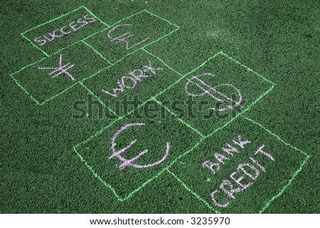 Business hopscotch