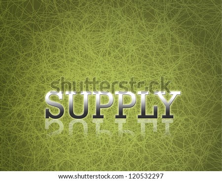 Business ideas on green abstract background.