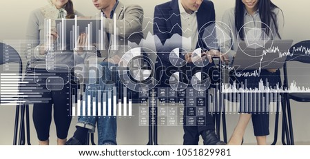 Business information and infographics concept. - Shutterstock ID 1051829981