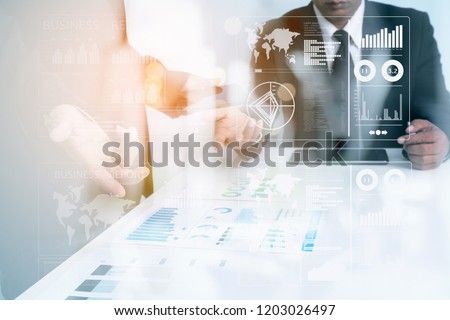 Business Investment Advisory TEAM Analyzes Company's Annual Financial Statements.Advisory TEAM meeting DISCUSSING and AUDIT the Results with the Chief. TAX and Investment Guidelines for SHAREHOLDEs