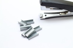 Business item stapler and core