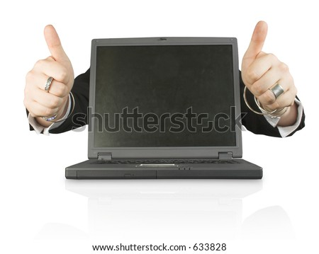business laptop success