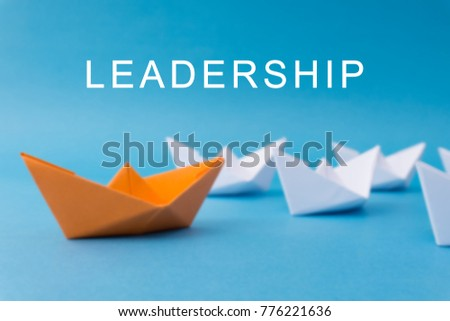 Business Leadership Concept - Leadership Word. #776221636