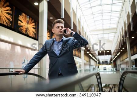 Business man in a dark suit #349110947