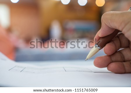 Business man Manager checking and signing applicant filling documents reports papers company application form or registering claim in meeting room office. Document Report business Concept