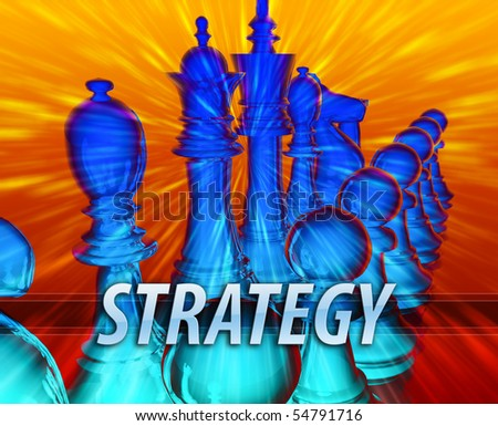 Business management leadership planning strategy abstract concept illustration