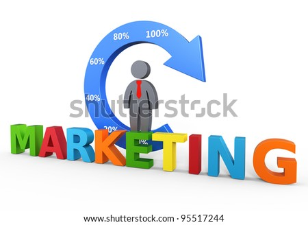 Business marketing concept