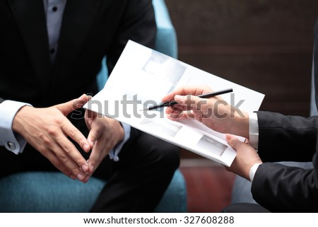 Business Meeting Sales Pitch #327608288