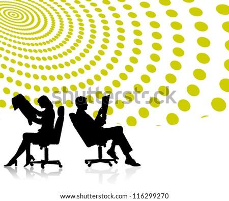 Business men and women 01