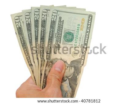 Business money - stock photo