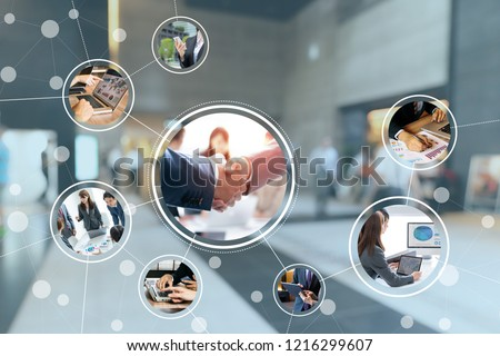 Business network concept. Stock photo ©