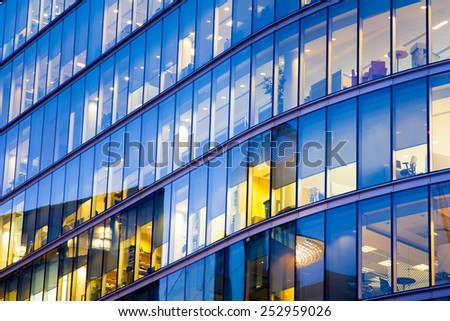 Business office building in London