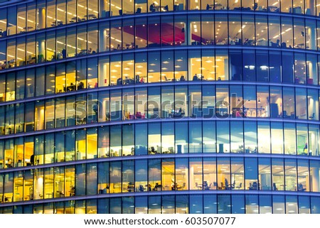 Business office building in London, England Photo stock ©
