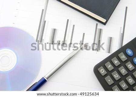 Business / office concept shot, closeup.